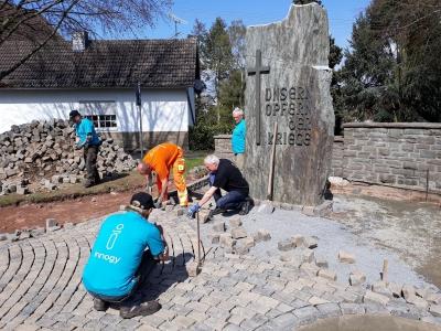 Neugestaltung Kriegerdenkmal